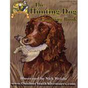 shop Hunting Dog Coloring Book
