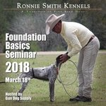 shop Huntsmith Foundation Basics Seminar with Instructor Ronnie Smith -- March 18, 2018