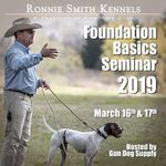 shop Huntsmith Foundation Basics Seminar with Instructor Ronnie Smith -- March 16-17, 2019