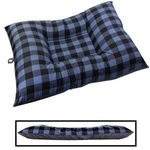 JUMBO Bizzy Beds™ Dog Bed -- Buffalo Blue / Gray Two-Tone