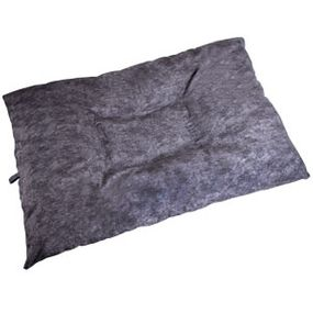 shop JUMBO Bizzy Beds® Dog Bed with Zipper -- Charcoal