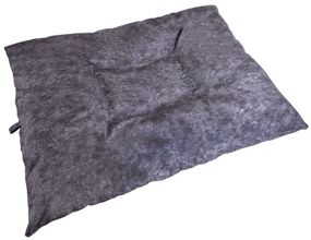 shop JUMBO Bizzy Beds™ Dog Bed with Zipper -- Charcoal