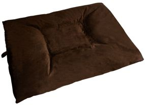 shop JUMBO Bizzy Beds™ Dog Bed with Zipper -- Chocolate