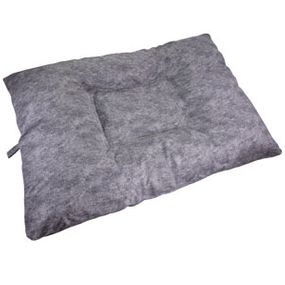 shop JUMBO Bizzy Beds® Dog Bed with Zipper -- Granite