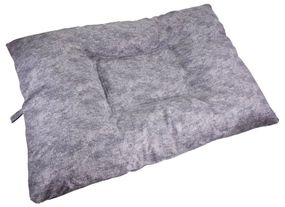 shop JUMBO Bizzy Beds™ Dog Bed with Zipper -- Granite