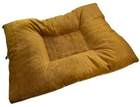 shop JUMBO Bizzy Beds™ Dog Bed with Zipper -- Timber