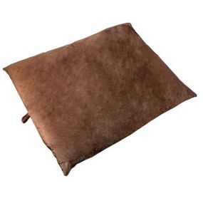 shop JUMBO Bizzy Beds® Pillow Bed -- Brown
