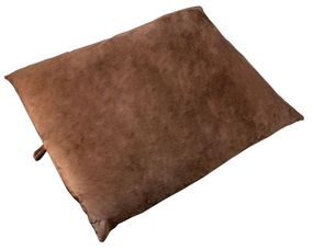 shop JUMBO Bizzy Beds™ Pillow Bed -- Brown