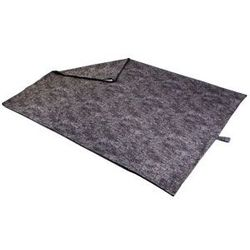 shop JUMBO Bizzy Beds® Pillow Bed Replacement Cover -- Charcoal