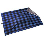 shop JUMBO Bizzy Beds® Replacement Cover -- Buffalo Blue / Gray Two-Tone