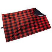 shop JUMBO Bizzy Beds®  Replacement Cover -- Buffalo Red / Black Two-Tone