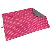 shop JUMBO Bizzy Beds® Replacement Cover -- Pink Polka Dot / Gray Two-Tone