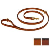 shop K-9 Komfort 6 ft. Bridle Leather Snap Lead