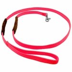 shop K-9 Komfort 6 ft Nylon Lead with Leather Handle pink