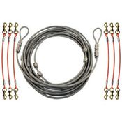 shop K-9 Komfort Cable Gang 6-dog