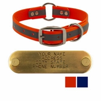 shop K-9 Komfort TufFlex Reflective Center-Ring Collars