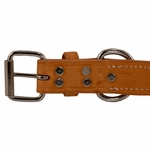shop K9K 1 1/4 Inch Harness Leather Standard Buckle Inside Detail