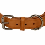 shop K9K 1 1/4 Inch Harness Leather Standard Front of Buckle Detail