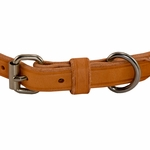shop K9K 3/4 Inch Harness Leather Standard Front of Buckle Detail