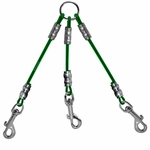 shop K9K Cable Couple -- 3 Dog Green