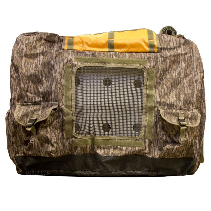 Kennel Cover Side View