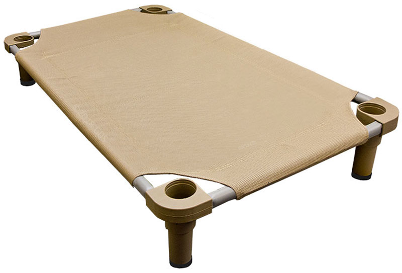 Large 40 In X 30 In Rectangle Premium Weave Dog Cot By