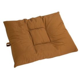 shop LARGE Bizzy Beds® Dog Bed with Zipper -- Brown Canvas