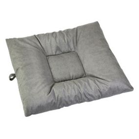 shop LARGE Bizzy Beds® Dog Bed with Zipper -- Fog