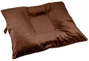 shop LARGE Bizzy Beds™ Dog Bed with Zipper -- Brown