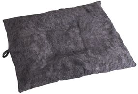 shop LARGE Bizzy Beds™ Dog Bed with Zipper -- Charcoal