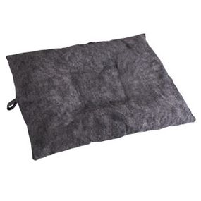 shop LARGE Bizzy Beds® Dog Bed with Zipper -- Charcoal