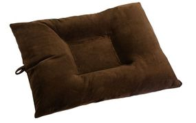 shop LARGE Bizzy Beds™ Dog Bed with Zipper -- Chocolate