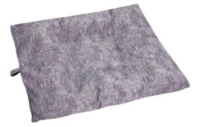 shop LARGE Bizzy Beds™ Dog Bed with Zipper -- Granite