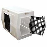 shop Large Double Door Side Entry Kennel Right Open