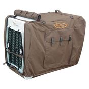 shop Large/Extended Brown Bedford Uninsulated Kennel Cover by Mud River