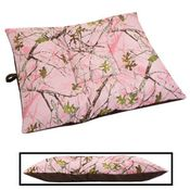 shop LARGE Limited Edition Bizzy Beds® Dog Bed -- Pink Conceal Camo / Coffee Two-Tone