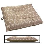 LARGE Limited Edition Bizzy Beds® Dog Beds -- Giraffe / Olive Green Two-Tone