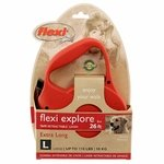 shop Large Red Retractable X-Long Leash Package