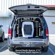 shop Large SUV Kennel In SUV