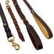 shop Leather Snap Leads and Leashes