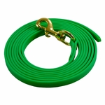 shop Light Green 10ft. Puppy Drag Check Cord