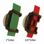"""shop Locator Beacon Detail on 1"""" and 3/4"""" Collars"""