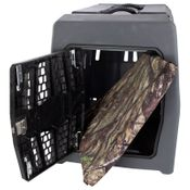 shop  Lucky Duck Large Kennel + Bizzy Beds® Crate Cushion COMBO -- True Timber HTC Camo