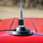 shop Magmount Base with Spring Whip Antenna Kit on Truck