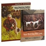 """shop Martha H. Greenlee Book Combo -- Includes """"Training Tips Your Bird Dog Will Love"""" and """"Training with Mo"""""""