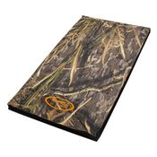 shop MED/LARGE HABITAT Camo Mud River Crate Cushion 30 in. x 18 in.