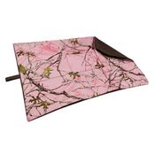 shop MEDIUM Bizzy Beds® Replacement Cover -- Pink Conceal Camo / Coffee Two-Tone