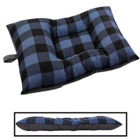 shop MEDIUM Bizzy Beds® Dog Bed -- Buffalo Blue / Gray Two-Tone