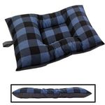 MEDIUM Bizzy Beds® Dog Bed -- Buffalo Blue / Gray Two-Tone