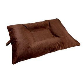 shop MEDIUM Bizzy Beds™ Dog Bed with Zipper -- Brown